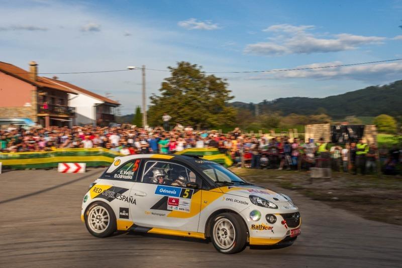Último rallye de la temporada para Esteban Vallín y el Opel ADAM R2Corsa
