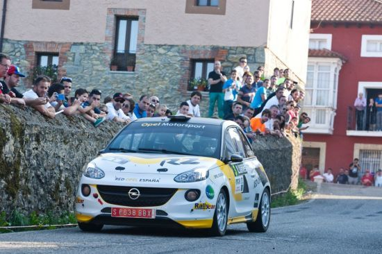 Vallín y el Opel Adam R2 llegan con muchas ganas al Rallye de Cantabria