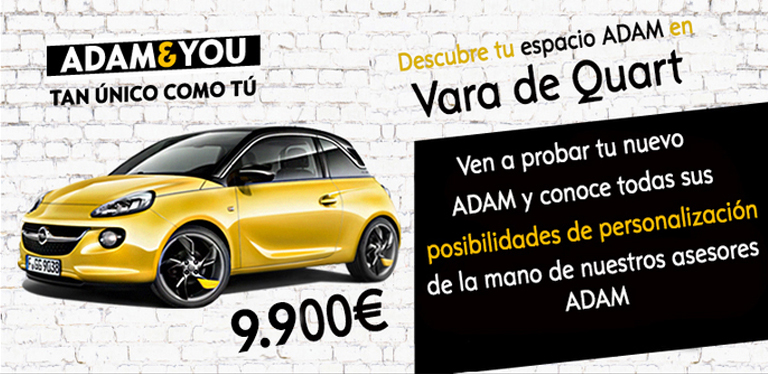 A. Vara de Quart, Concesionario Oficial Opel en Valencia