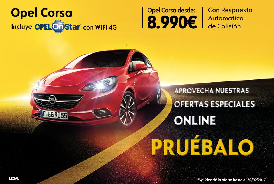 Oferta especial Opel Corsa Canarias