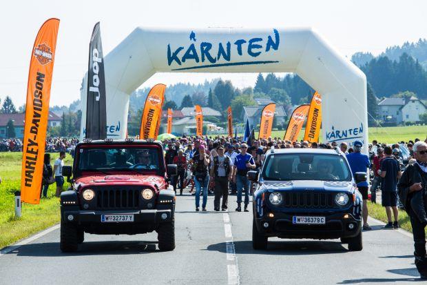 Gran éxito de las marcas Jeep® y Harley-Davidson® en la 19 European Bike Week