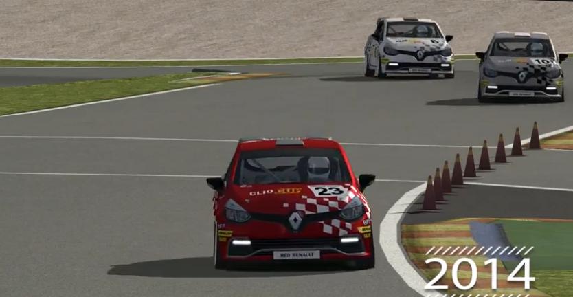 ¡Empieza la nueva temporada de la Clio Cup Online!