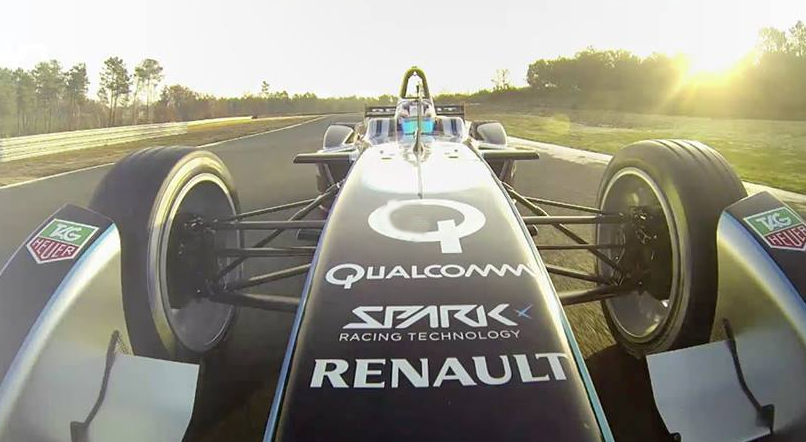 Cuando se unen dos mundos como la Fórmula 1 y los vehículos eléctricos…