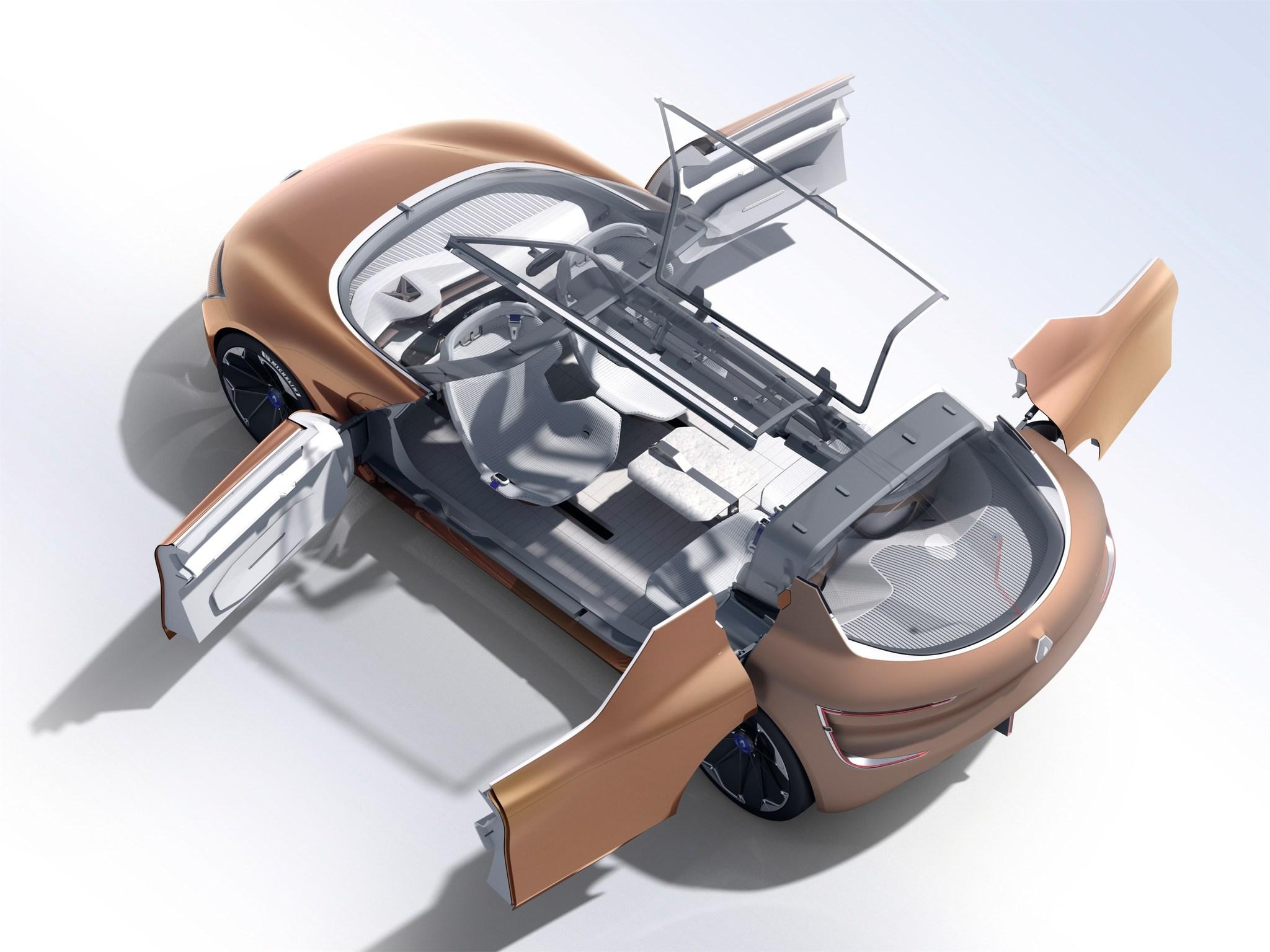 Renault Symbioz: el coche como una extensión del hogar