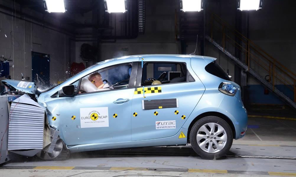 ¡Renault ZOE ha sido nombrado el mejor de su categoría en términos de seguridad por EuroNCAP!