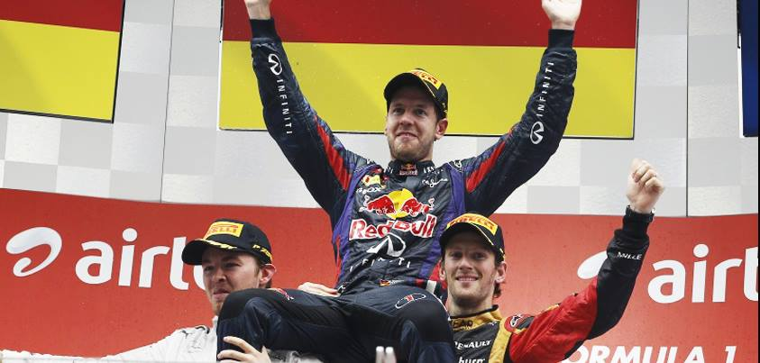 ¡Sebastian Vettel ha logrado su 4º Mundial de Fórmula 1!